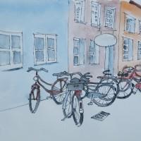 Fahrräder im Kuhviertel